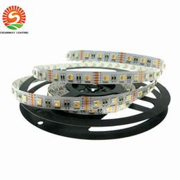 24v / 12V RGBW LED Şerit 5050 Esnek LED Işık RGW / RGBWW 1 LED'te 4 renk Chip 60 LED / m 5m / lot. nereden