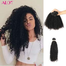Wholesale Brazilian Curly Virgin Bulk Hair - ALOT Grade 8A Brazilian Virgin Curly Hair 100% Human Hair 4 Bundles Kinky Curly Hair Bulk 100% Unprocessed Extensions 8-28 inch