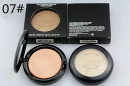 Wholesale English Skinfinish - Hot Sale MINERALIZE Skinfinish Powder Cheek Bronze Brand Face Pressed Powder 12 Colors With English Name 10g Free Shipping 1pcs lot