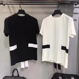 Wholesale Cross Stitch Crosses - 2017 Summer New Fashion brand The cross stitching T Shirt Men Short Sleeve T-Shirts Tops Tees Casual clothes Men