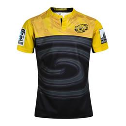 Transferencia de camisetas online-Rugby League New Zealand Super Rugby Union Hurricanes jersey de impresión de transferencia de calor a alta temperatura Camisetas de rugby