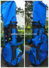 Wholesale Orange Golf Bag - High Quality Golf Clubs Jackpot Johnny Golf Bags Canvas Female Male Bag Black Blue Orange Gray Color Stand Bags Free Shipping