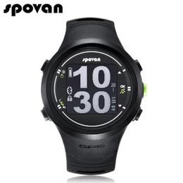 Wholesale Sport Watch Unisex Compass - SPOVAN Smart Sports Watches for Men Watch Women Bluetooth Calorie Counter Compass Waterproof Clock (Free Heart Rate Belt) GL005