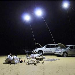 Wholesale Light Telescopic Fishing Rod - DC12V 48W Telescopic LED Fishing Rod Camping Lighting Outdoor Emergency Flood light with IR Remote control