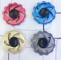 Wholesale Top Toys For Women - Top Hurricane 2.0 Fidget Spinner EDC Metal Hand Spinners Custom Bearing Fidget Toys Cross Style for man and women Aluminium alloy finger toy