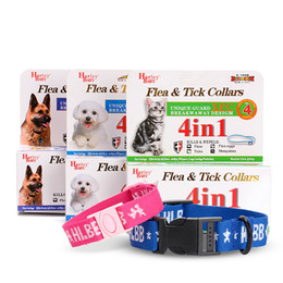 Wholesale Wholesale Dog Collar Buckles - Remedies Flea And Tick Collar For Dogs Pets Anti Mosquitoes Collars Cat Depulization Necklet With Plastic Buckle Unique Guard 4 9rc R