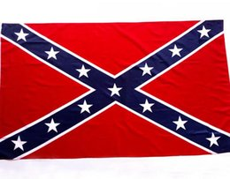 Wholesale Flags Wholesale - The Truth About the Confederate Battle Flags Two Sides Printed Flag Confederate Rebel Civil War Flag United States National Flag KKA1866