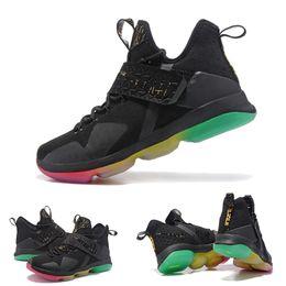 Wholesale Product Detail - Casual Shoes Product detail 2017 LeBron 14 James XIV 14s Mens High Cut breathable Lebron Shoes Christmas Rio Glow Coast Elite