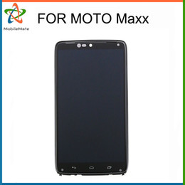 Wholesale Xt926 Lcd Screen - Free DHL Shipping For Motorola Driod Razr Maxx HD XT925 XT926 XT926M LCD + touch lens digitizer screen No Dead Pixles