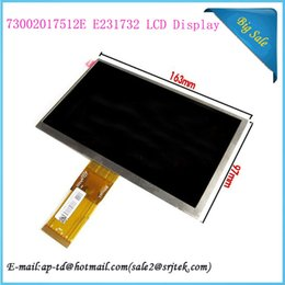Wholesale Panel Pc Price - Wholesale-Best Price!! 7 inch 73002017512E E231732 LCD Display Monitor Screen Tablet Pc Repairment Parts Module Panel+Tracking Number