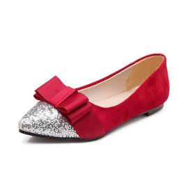 2019 корейская резиновая обувь для женщин Балетные брюки стиль корейская версия лук узел цвет узел мороз ленивый обувь указал резиновая подошва грубый с женской обуви дешево корейская резиновая обувь для женщин