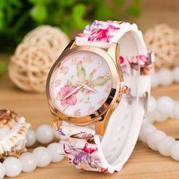 Wholesale Kids Unisex Silicone Strap Watches - 2016 Zebra Geneva Watch Silicone Ladies Women Watches Strap Jewelry Quartz Jelly kids Sport Wristwatches for Holiday gift