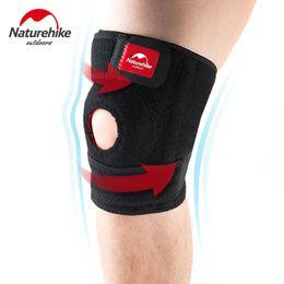 Wholesale Options Pads - Wholesale- NatureHike Adjustable Sports Left Right Leg Knee Brace Wrap Protector Knee Pads Guard L M Size Option