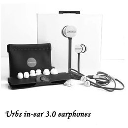 Wholesale Ipad Ios - AA+Quality Urbs 3.0 in-ear earphones headphones urbs in ear 3S sports with Mic Wired headsets for iPhone iPad IOS system