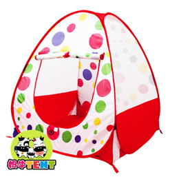 Wholesale Baby Tents - Children tent can be folded indoor and outdoor ocean ball pool princess game house 0-8 years old baby toys