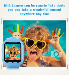 Wholesale Korean Kids Swimming - waterproof kids smart watch kids gps watch smartwatch swimming watch with camera GPS location with voice chat function