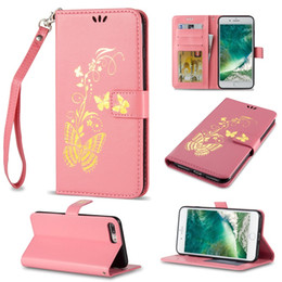 Wholesale Cover Huawei Butterfly - Leather Wallet Case Bronzing Printing Butterfly Defender Cover For HUAWEI P8LITE P9 P9LITE Google 6P 5X GR5 Huawei4C Y550 Y560 Y6 Y625