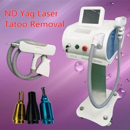 Wholesale New Model Machine - 2017 New Model Good Effects q-switch nd yag laser tattoo removal Professional machine with 1,000,000 Shoots