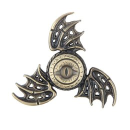 Wholesale Cool Toys For Big Kids - Cool Hand Finger Tri Fidget Spinner Metal Toy The Lord of the Rings Game of Thrones Dragon Wings Magic Spiner For Children