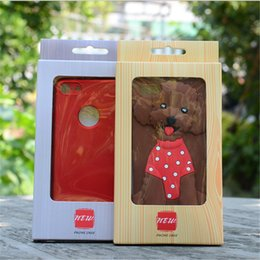 Wholesale Covers For Galaxy S4 Wood - Retail Package Wood Grain Style Universal Packaging Box For iphone X6 7 8 Plus SAMSUNG Galaxy s4 s5 Phone Cases Cover NO insert
