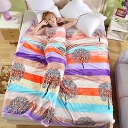 Wholesale Apple Tree Print - [Apple tree]2017 fashion printing and dyeing coral wool blanket sofa bedroom car warm blanket soft and comfortable quality assurance