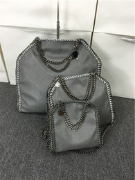 Wholesale Celebrity Brand Handbags - new female chain bags 3 chains famous brands tote handbags Two bags shoulder bag classic celebrity 15colors DHL can ship