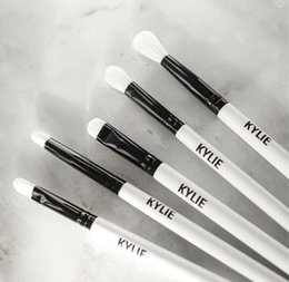 Wholesale Hot Setting - Hot Kylie Jenner Holiday Edition Makeup brushes kit Limited Edition brush Set 5 pcs beauty tools for Christmas gift drop shipping