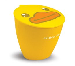 Wholesale Rubbish Container - 10pcs lot Novelty B.Duck garbage container Type fashion small cheap plastic garbage rubbish bin