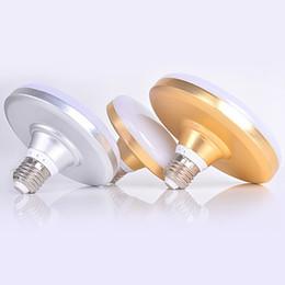 Wholesale High Power Led Screw - LED bulb, high power flying saucer lamp, super bright home energy-saving lamp, factory lighting, E27 screw waterproof bulb
