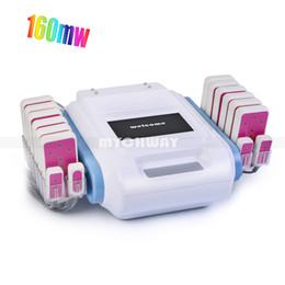 Lipo laser 16 pastiglie online-20480mw 635nm-650nm 16 rilievi Lipo Laser LLLT rimozione di cellulite corpo modellamento dimagrante bellezza macchina spa