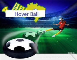 Wholesale Funny Football Soccer - Funny Hover Ball Toys Air Power Soccer Balls Disc Gliding Multi-surface Hovering Football Game Toy Kid Chidren Gift