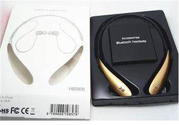 Wholesale Headphone S - HBS 800 HBS800 HBS-800 Headphone Sports Stereo Bluetooth Wireless Headset s for Samsung Blackberry iPhone Bluetooth Headphone