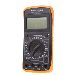 Wholesale Dc Ac Ammeter - F 200mA 250V AC DC Digital LCD Display Voltmeter Ohmmeter Ammeter Professional Electric Handheld Tester Digital Multimeter