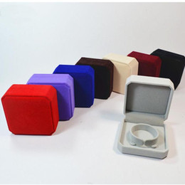 Wholesale Jewelry Packaging Bracelet Box Packing - Fashion bracelet box pack for bracelet Wholesale Gift boxes high quality velvet jewelry packaging DHL free ship