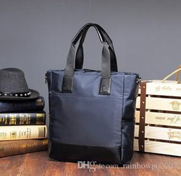 Wholesale Canvas Extra Large Tote Bag - Factory WholeTide Brand Mens Bag Handbag Simple All-match Men Leisure Wear Waterproof Oxford Man Cool Style Brand Canvas Tote Handbag
