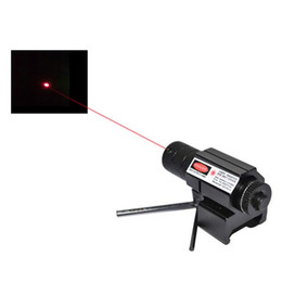 Wholesale Tactical Pistol Scope Mount - Tactical Red Dot Laser Sight Scope w  Mount 21mm Picatinny Rail Mount + 2x Wrench Gun Rifle Pistol Hunting Optics