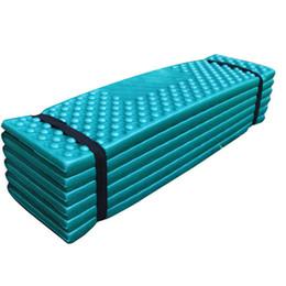 Wholesale Yoga Pad Mattress - Wholesale- Camping Mat Ultralight Foam Picnic Mat Folding Slot Beach Mat Tent Sleeping Pad Moistureproof Yoga Mattress outdoor