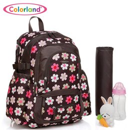 Wholesale Microfibre Diapers - Wholesale-8 Colors High Quality baby backpack Microfibre Diaper Bags Nappy Mummy backpacks bolsa maternidade