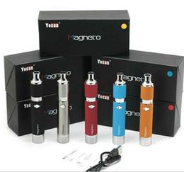 Yocan Magneto kit clone cera vaporizador Pen Kits com 1100 mah bateria atualizado Evolve Plus cigarro eletrônico 5 cores na loja de Fornecedores de lojas de canetas