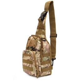 Wholesale Tactical Equipment Wholesalers - Men Messenger Bags Chest Pack Multifunctiona Tactical Shoulder Bag Crossbody Camping Equipment Outdoor bags