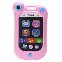 Wholesale Product Copy - Kids Phone Children's Educational Simulationp Music Mobile Toy Phone Baby Toy Phone