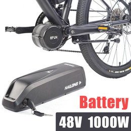 Wholesale Bike Electric Battery - 48v electric bike battery for 1000W bafang kits Hailong battery pack 11.6ah lithium iom bbshd