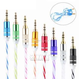 hdmi bluetooth inalámbrico Rebajas Estéreo de 3,5 mm de audio AUX cable de dos colores alambre auxiliar Jack cables de macho a macho M / M 1M / 3FT de Samsung del teléfono móvil 200Pcs Sin Paquete