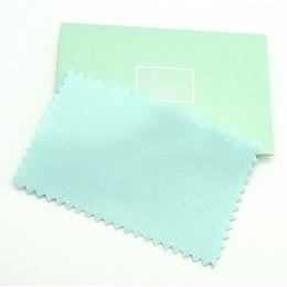 10 unids / lote limpieza de la joyería de plata paño de pulido para 925 joyería de plata regalo 6x10cm CL2 envío gratis desde fabricantes