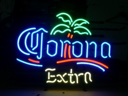Wholesale Neon Sign Game - neon signs CORONA EXTRA real glass tube handmade bar beer club in the wall game room