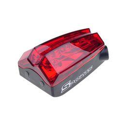 Bike Safe Light Promo Codes   Wholesale  OUTERDO Waterproof MTB Bicycle 5  LED Laser Rear