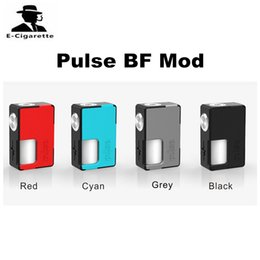 Wholesale Food Bottles - 100% Authentic Vandyvape Pulse BF Unregulated Squonk Box Mod E Cigarette Vape Mod Builti-in 8ml Food Grade Silicone Bottle