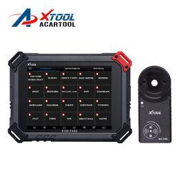 2019 маленькие светодиодные фонари 24v XTOOL Original X100 Pad2 pro 4 Системы с поддержкой 45 IMMO EPB EPS OBD2 Смазочный одометр RST TPMS TPS X100 PAd 2 Лучше, чем X300 pro3