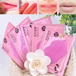 Wholesale Oil Cracking - PILATEN Crystal Collagen Lip Mask Collagen Protein Crystal Women Replenishment Lip Film Lip color anti cracking freeshipping-DHL 1800PCS lot