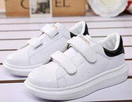 01c7da52 2017 primavera verano nuevos zapatos casuales niños zapatillas de moda niños  niñas blanco calzado deportivo zapatos de bebé niño para niños G430 zapatos  de ...